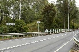 The court was also shown photos of Kholo Creek, 14km further west of the family home, where Allison's body was found on its banks by a kayaker 10 days after she went missing