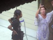May 2014_ Schapelle Corby, with loved ones in Kuta,Bali