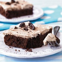 Random post#11: Cappuccino Frosted Brownie!n ( comments not allowed)