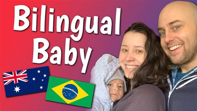 raising a bilingual baby, aussie english, australian english