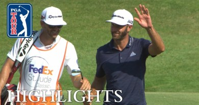 Dustin Johnson finishes with hole-out eagle to win FedEx St.Jude Classic
