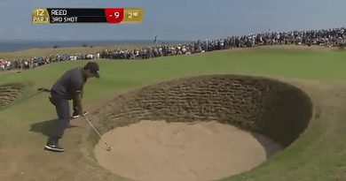 POT BUNKER WARNING / Patrick Reed and the three fried eggs