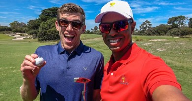 Tiger Woods and Ernie Els meet the How Ridiculous challenge: video