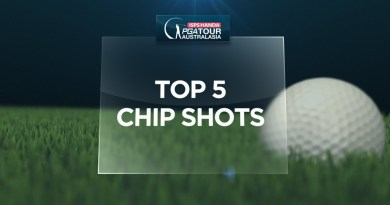 Top 5 chip shots on the ISPS HANDA PGA Tour of Australasia in 2018