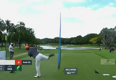 Ho-sung Choi's golf swing looks to be getting crazier