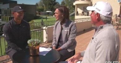 Superstititions: Tiger Woods and Fred Couples chat on GOLFTV