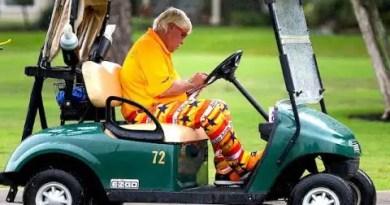 John Daly will use a golf cart to play US PGA Championship this week