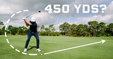 Why it's impossible to drive a golf ball 450 yards: video