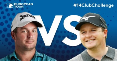 Fox and Pepperell face off in one very entertaining 14-club challenge video