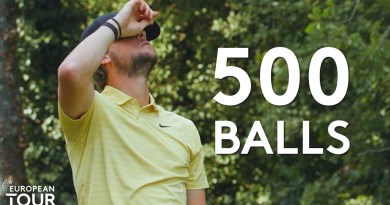 Thomas Pieters given 500 balls to make a hole-in-one