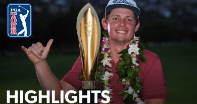 Cameron Smith claims playoff victory at Sony Open in Hawaii: video highlights