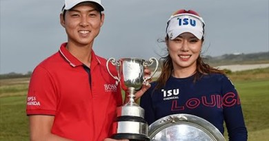 Min Woo Lee and Hee Young Park win 2020 ISPS Handa Vic Open titles