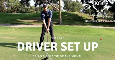 Setup and stance – Driver vs iron