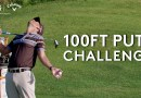 Min Woo Lee joined fellow European Tour golfers for a 100ft Putt Challenge