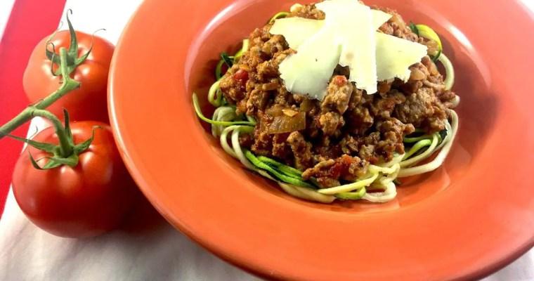Australia's National Dish – Spaghetti Bolognaise! LCHF KETO