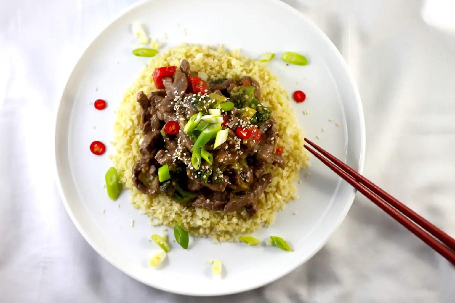Keto Beef and Broccoli Stir Fry