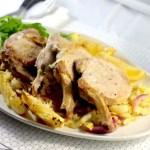 keto pork chops, low carb cider, keto pork chops and cider, keto oven baked pork chops