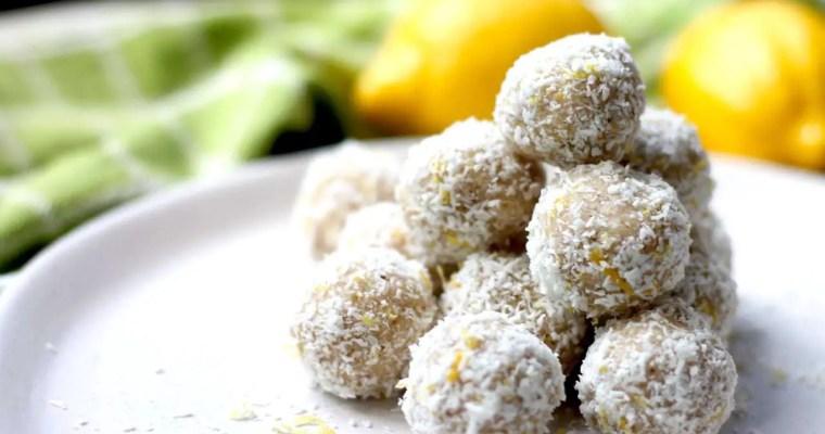 Keto Bliss Balls – Lemon and Coconut