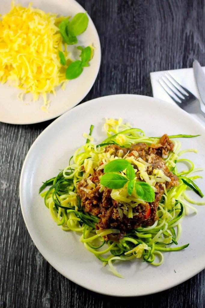 Keto Vegetarian Bolognese