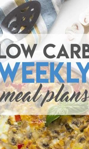 Weekly Keto Meal Plans