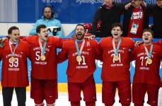 PyeongChang 2018 Winter Olympics: victory ceremony for men's ice hockey