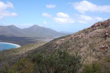 links liegt Wineglass Bay