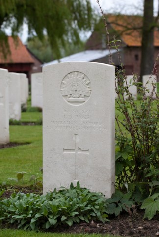 Grave 164 Sapper James.D Page
