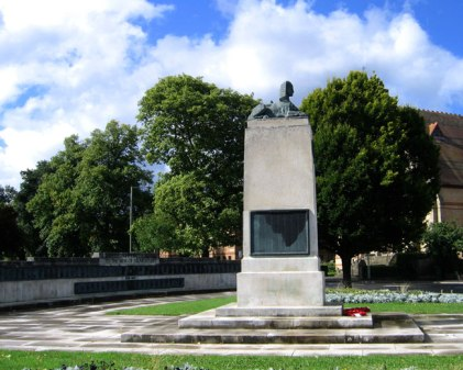Gloucester City War memorial - UK