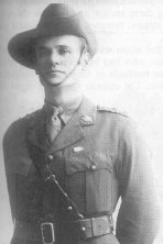 """Phil Ayton . 1919 - Photo from """"Anzac Digger"""" by Roy & Lorna Denning - Published 2004"""