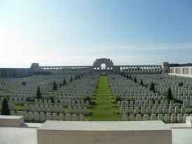 Pozieres British Cemetery Ovillers-la-Boisselle Somme France