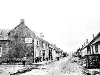 Pozieres Main street 1914