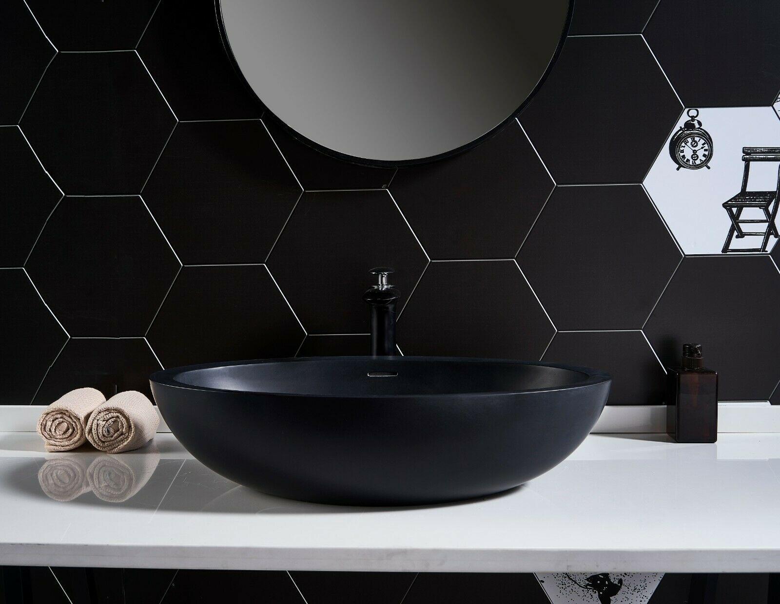 black basin top black ceramic wash basin bathroom sink bowl above counter top vanity