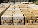 banded split block from Aussietecture stone supplier factory, made from sandstone