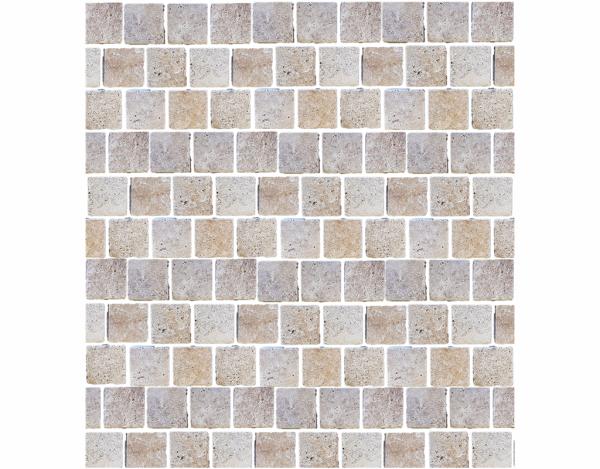 Aussietecture travertine cobble stone pavers