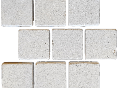 Derby marble stone cobblestone paving product, 9 pieces per sheet