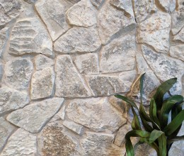 Aussietecture Irregular Beltana walling stone, limestone interior and exterior stone veneer