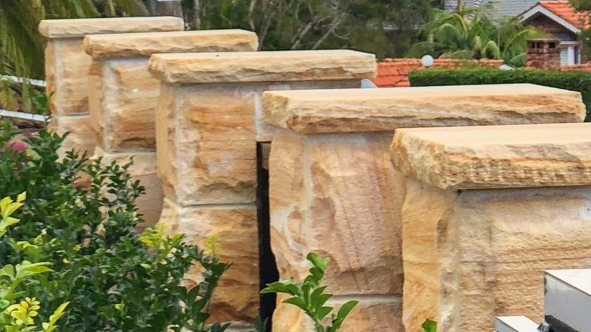 Aussietecture Natural Stone Supplier - rockface walling project