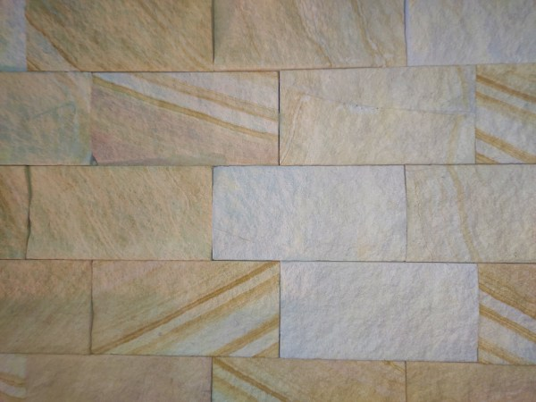 Aussietecture kirra banded wall cladding stone, split surface sandstone