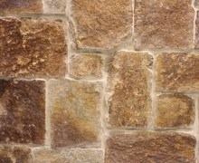 Aussietecture Colonial Quilpie walling stone, granite interior and exterior stone veneer