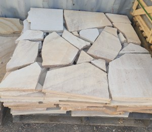 Aussietecture sandstone crazy paver