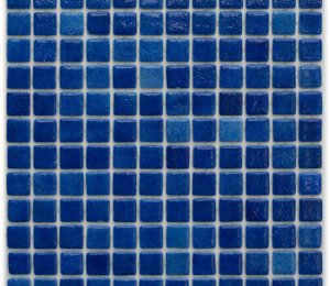 Aussietecture Monaco swimming pool mosaic, blue glass mosaic for pool tiling