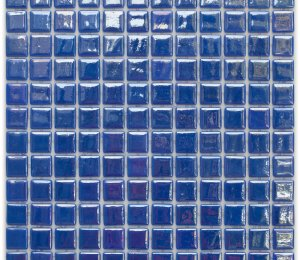 Aussietecture New York swimming pool mosaic, blue glass mosaic for pool tiling