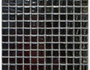 Aussietecture Phuket swimming pool mosaic, black glass mosaic for pool tiling