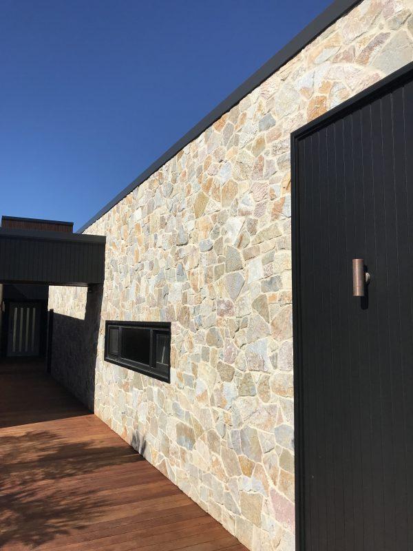 exterior walling stone laverton irregular