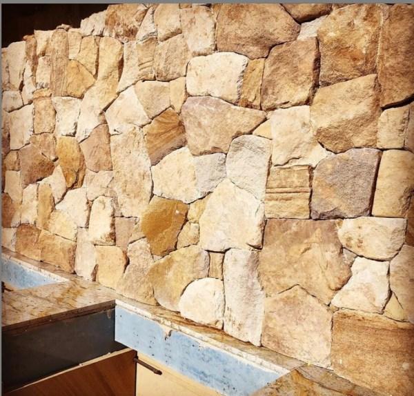 Ranch Irregular wall cladding project