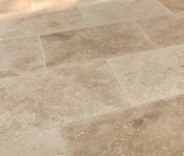Classic Travertine stone paving