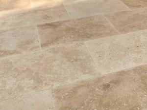 Classic Travertine stone paving