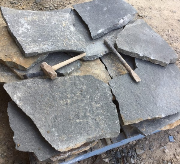 Atherton crazy paving Flagging Stone for Walls & Floors