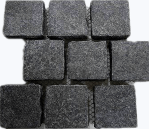 black-flamed-brick-pattern-granite-cobblestone