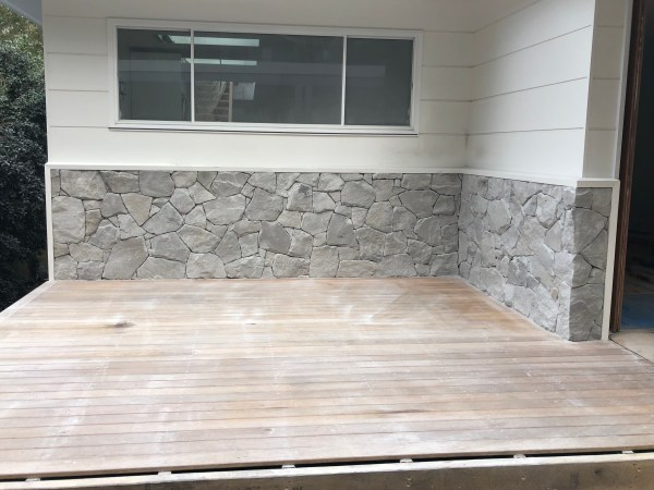 Orford Grey Australian sandstone cladding